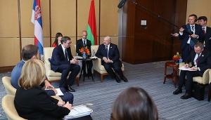 Лукашенко, Пекин, встреча, Александр Вучич, беларусь, сербия