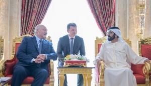 Лукашенко и шейх Мухаммед бен Рашид Аль-Мактум