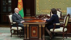 Лукашенко, Кочанова, 14 марта, выборы, информационная безопасность, Беларусь