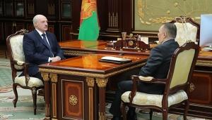 встреча Александр Лукашенко, Валентин Сукало, 8 мая