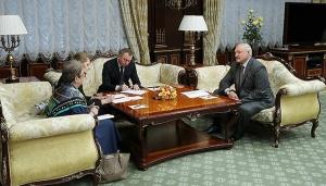 Лукашенко и Викторин. Фото прес-службы президента