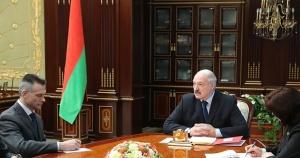 Лукашенко и Латышенок