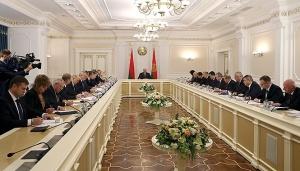 Александр Лукашенко, совещание по вопросу совершенствования системы управления белорусской энергетикой, АЭС, нефть, Беларусь