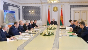 Александр Лукашенко, совещание о перспективах развития ОАО «Гродно Азот», Гродно Азот, 10 мая
