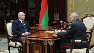 Александр Лукашенко и Игорь Шуневич