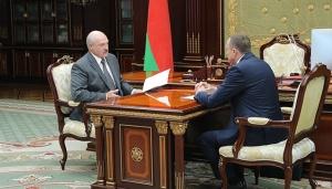 Лукашенко и Исаченко