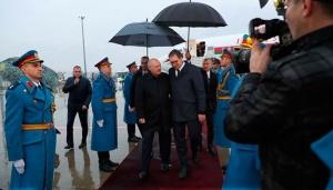 Лукашенко, визит в Сербию, Белград, переговоры, Александр Вучич