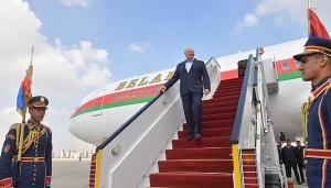 Александр Лукашенко, визит в Египет, Халид Абдель Гафар, Сергей Терентьев