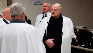 Александр Лукашенко, рабочая поездка в Витебскую область, 15 мая, ОАО Молоко