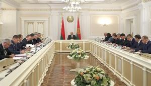 Совещание у Лукашенко, фото пресс-службы президента