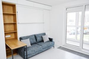 В Новой Боровой появились первые в стране квартиры-трансформеры