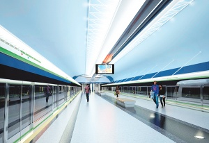 Новые станции метро Минска