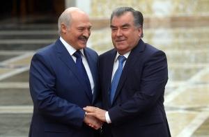 Лукашенко и Эмомали Рахмон