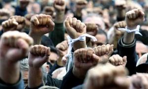 Акция протеста против Декрета о тунеядстве