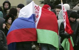 Белорусы и россияне