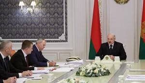 Лукашенко, совещание, 11 апреля, Россия, запрет, санкции, поставки продукции, Беларусь, Ляшенко, Дворник, Александр Лукашенко провел совещание 11 апреля, нефть