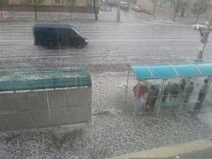 ураган, Минск, 13 июля, ливень, Минск затопило