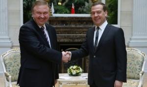 Кобяков встретился с Медведевым