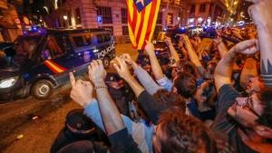 каталонцы протестуют