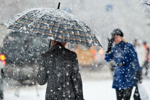 Мокрый снег в Беларуси