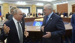 Лукашенко и Путин. Фото пресс-службы президента Беларуси