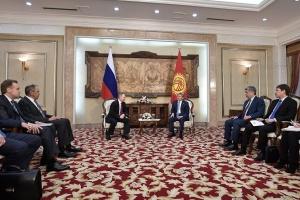 Путин и Атамбаев
