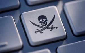 клавиатура, пиратский знак