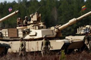 танки в учениях НАТО