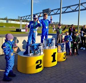 В Минске прошел сдвоенный этап Чемпионата и первенства Беларуси по картингу