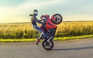 Езда на одном колесе