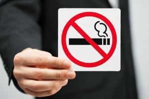 знак запрета на курение