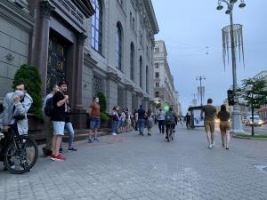 Пикет в поддержку задержанных прошел в Минске