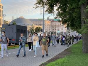 Во всех городах Беларуси проходит акция протеста