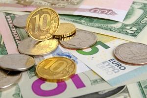 доллары, евро, российские рубли