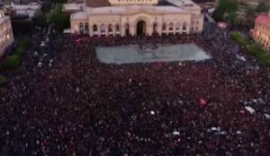 Серж Саргсян, Никол Пашинян, протесты в Армении, акция протеста в Армении, Армения, оппозиция, протесты