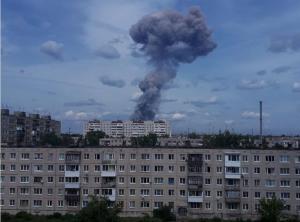 """взрыв на заводе """"Кристалл"""""""