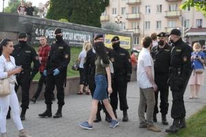 Правозащитники: в Беларуси за 4 дня задержано свыше 360 человек