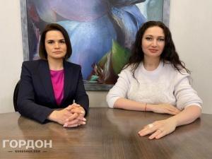 Тихановская дала большое интервью Гордону и пообщалась с его женой