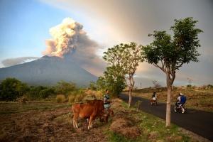 вулкан Ангунг на Бали