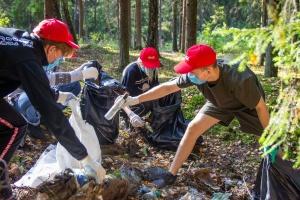 В городах Беларуси прошла Cleanup-акция