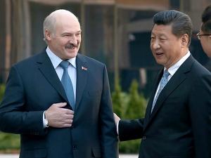 Лукашенко и Си Цзиньпин