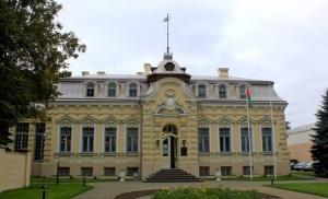 посольство Беларуси в Литве, взрыв, петарда
