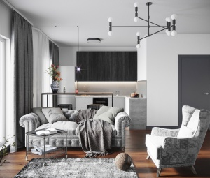 Как в Нью-Йорке и Стокгольме. В Новой Боровой появился новый вид квартир с отделкой и мебелью