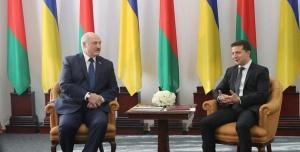 Лукашенко и Зеленский на переговорах