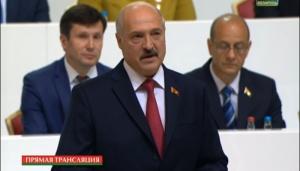 Александр Лукашенко на Всебелорусском народном собрании