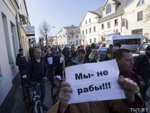 марш нетунеядцев, Беларусь, акции протеста, Бобруйск, Орша, Рогачев, Брест, Молодечно, аресты, оппозиция, Северинец, Смирнова, декрет №3, тунеядцы, протест
