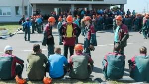 шахтеры, Беларуськалий, Солигорск, Юрий Корзун, забастовка, стачком, отставка Лукашенко, выборы