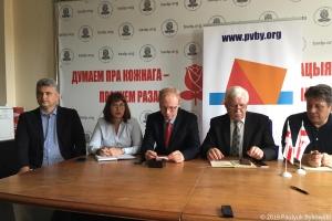 Пресс-конференция Права выбора. Фото Павлюка Быковского