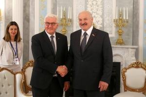 Лукашенко и Штайнмайер