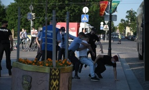 В Гродно прошла очередная цепь солидарности, есть задержанные